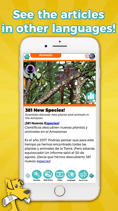 Screenshot #3 pour News-O-Matic EDU