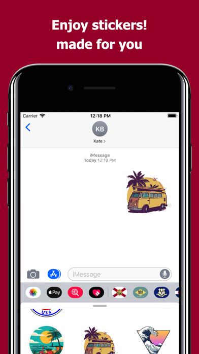 Florida emojis - USA stickers screenshot 5