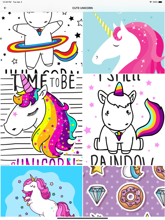 Cute Unicorn Wallpapers Apps 148apps