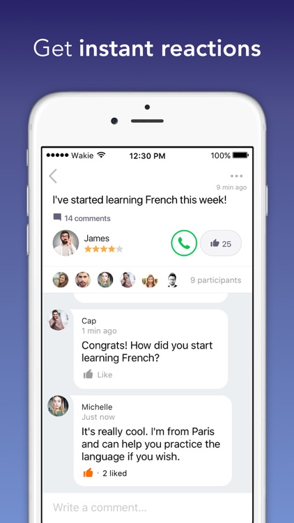 Wakie Chat – Talk to People