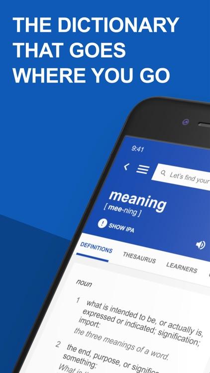 Dictionary.com: English Words screenshot-0