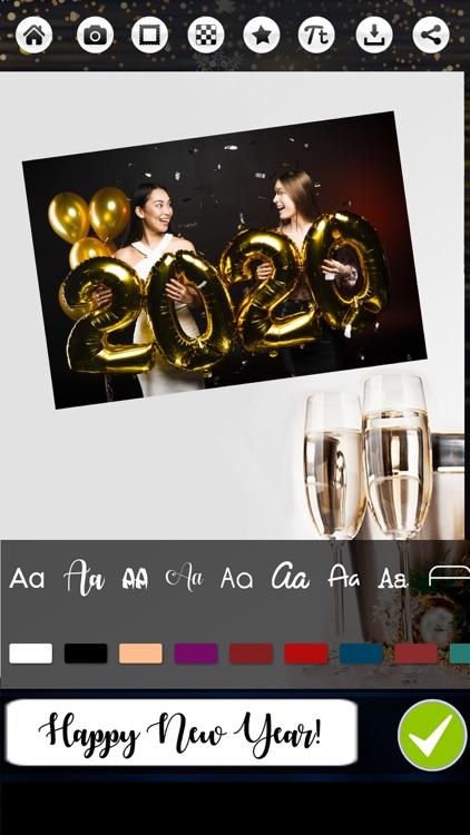 Happy New Year Photo & Frames screenshot-3