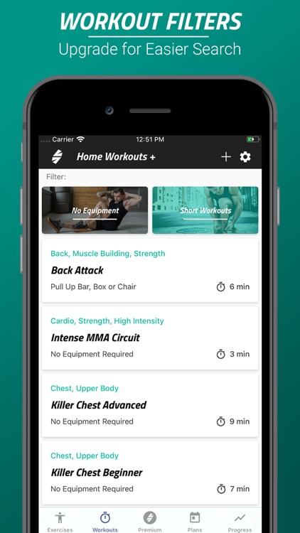 Spartan Home Workouts - Pro screenshot-0