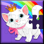 Unicorn Kids Puzzle Games