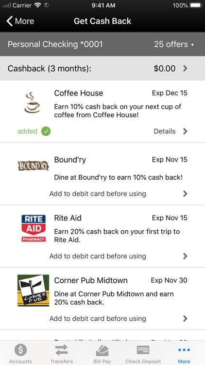 ProFed Online Mobile Banking screenshot-6