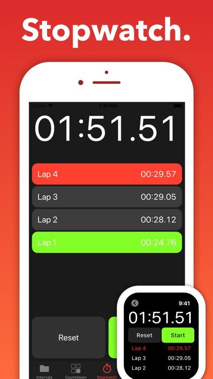 Interval Timer - Seconds