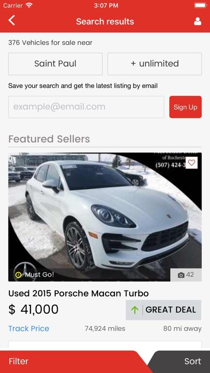 CarSoup Car Shopping
