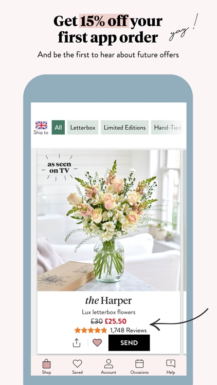 Bloom & Wild - Flowers & Gifts