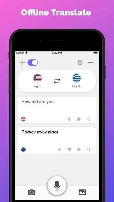 Screenshot of MX Translate - Parla e voce5