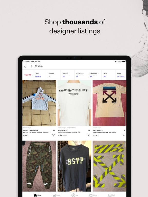 Screenshot #6 pour Grailed - Buy & Sell Clothing