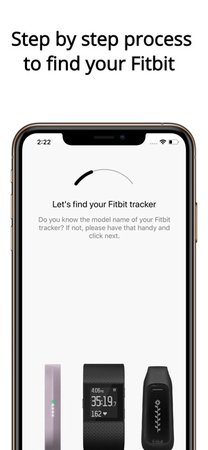 Finder for Fitbit Lite on the App Store