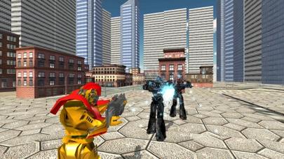 لعبة روبوت سيارة جت متعددةلقطة شاشة4
