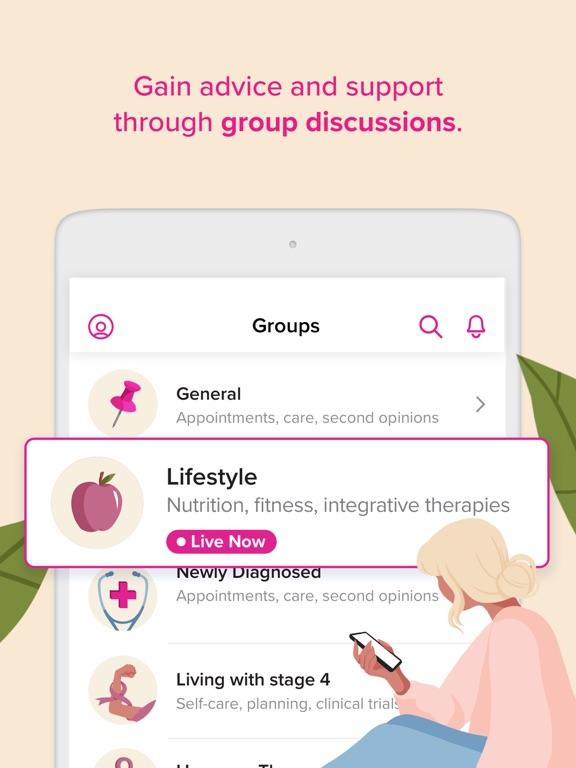Breast Cancer Healthline screenshot
