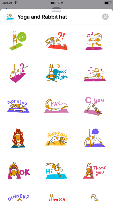 Yoga and Rabbit hat screenshot 1