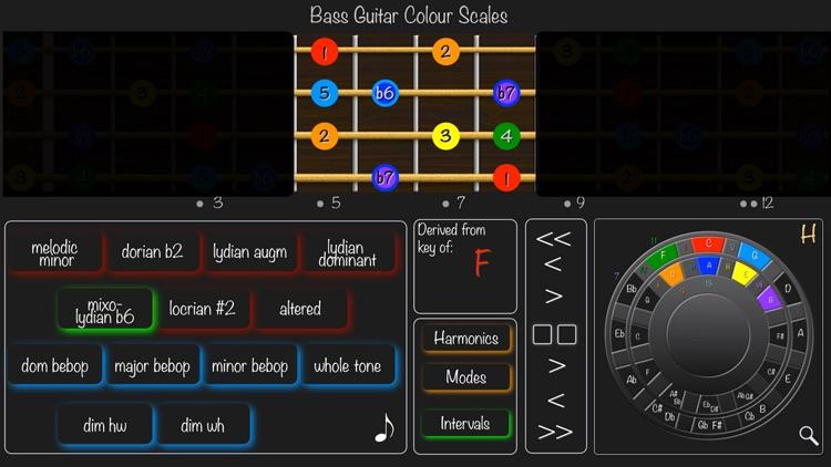 Bass Guitar Colour Scales screenshot-4