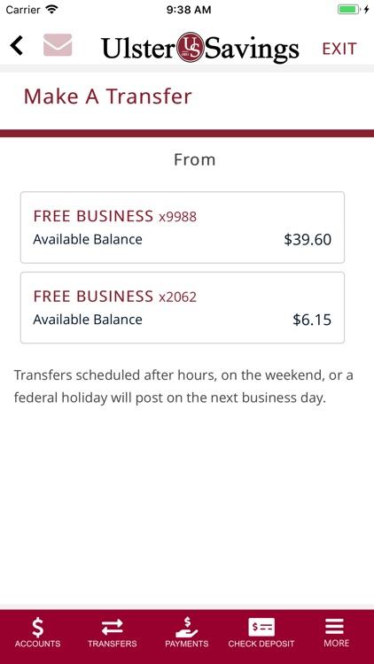 Ulster Savings Bank screenshot-3