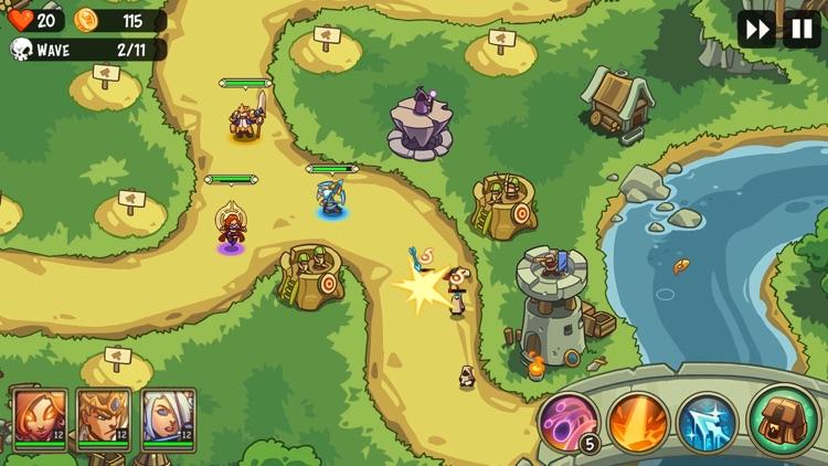 Empire Warriors TD Premium screenshot-5
