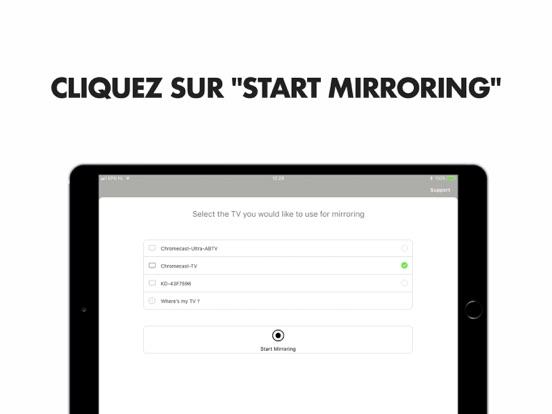 Mirror pour Chromecast