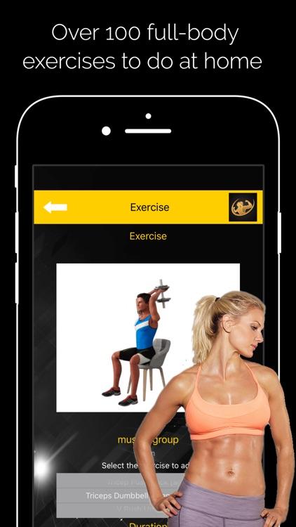 Home Workout PRO screenshot-3