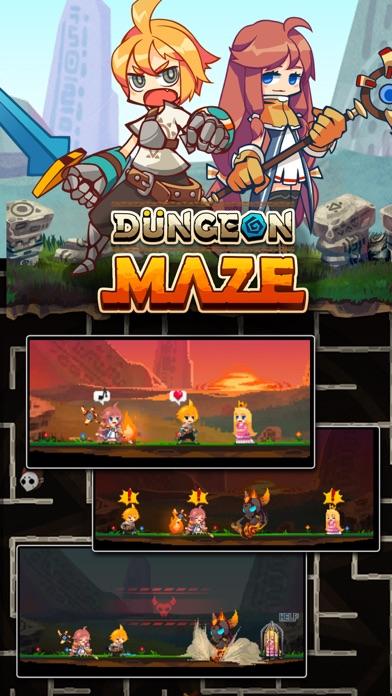 Dungeon Maze.io screenshot 4