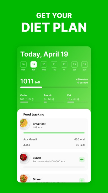 FoodTracker: Counting Calories