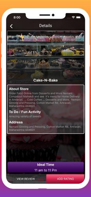 Amravati Cake Stores on the App Store