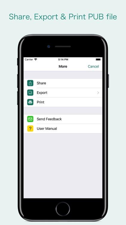 PUB Reader - for MS Publisher screenshot-3