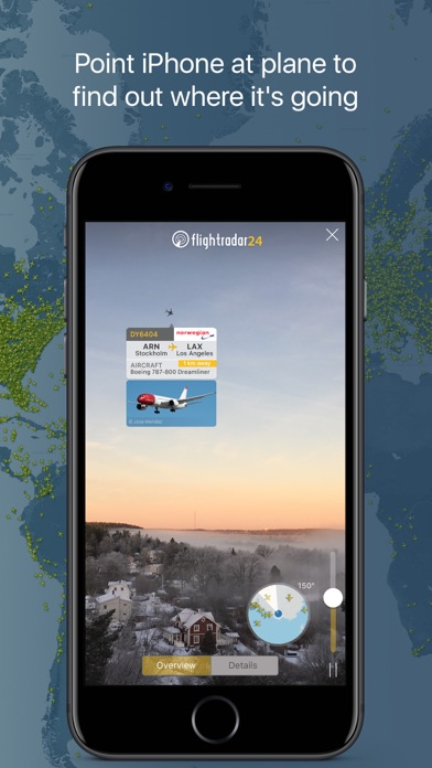 Screenshot for Flightradar24 | Flight Tracker in Azerbaijan App Store