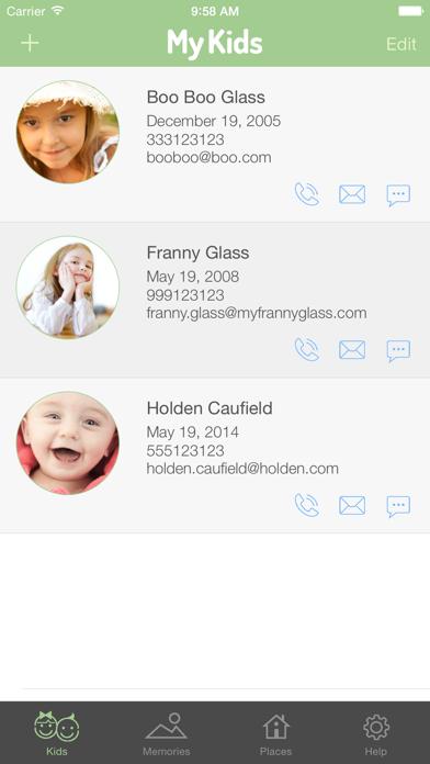 My Kids Memories Screenshots