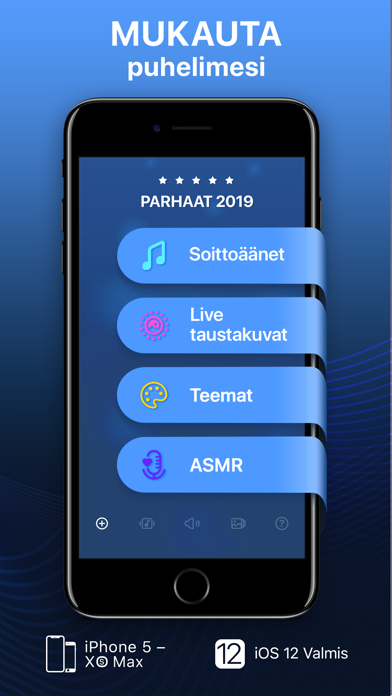 Screenshot for Soittoääniä & Live-taustakuvia in Finland App Store