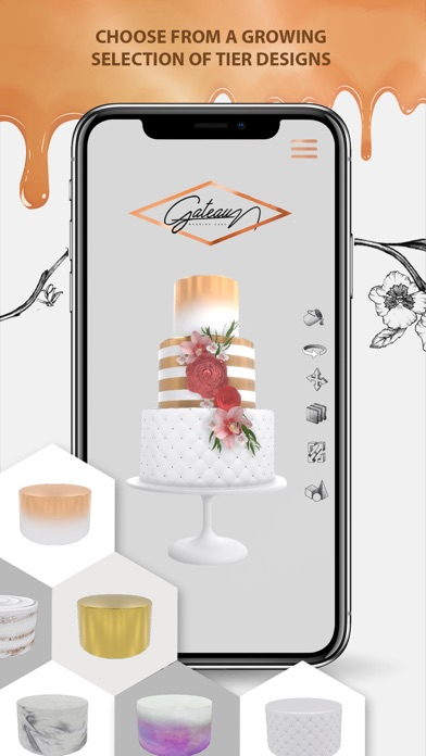 Cake Decorating App Screenshot