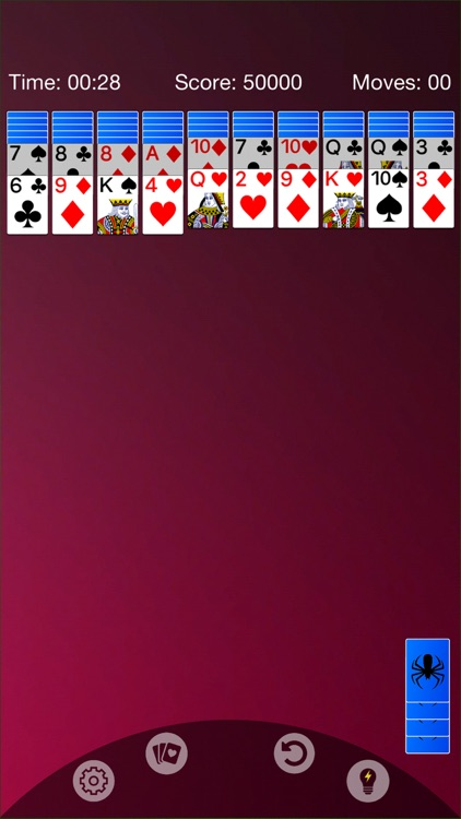 Spider Solitaire - Cards Game screenshot-4