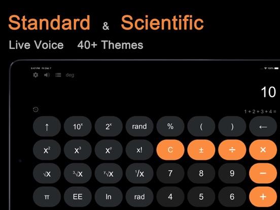 Calculator HD Free - Note Calculator screenshot