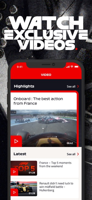 Formula 1® on the App Store