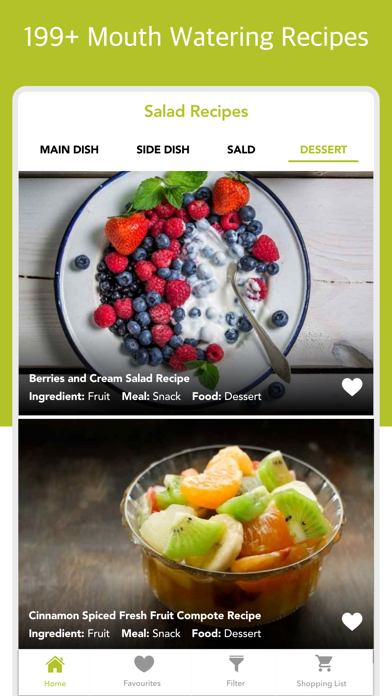 Salad Recipes - Lettuce Eats screenshot one