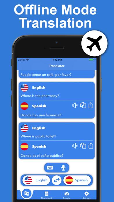 Voice & Photo Translator App screenshot #3