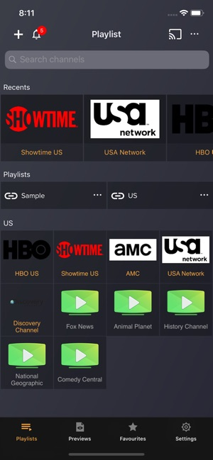 IPTV Player: play m3u playlist on the App Store