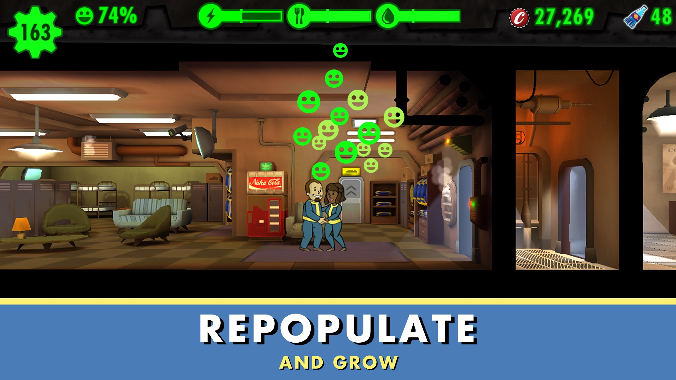 Screenshot do app Fallout Shelter