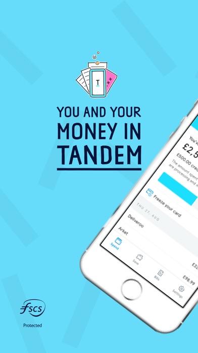 Tandem Bank screenshot one
