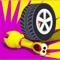 App Icon for Wheel Smash App in Azerbaijan IOS App Store