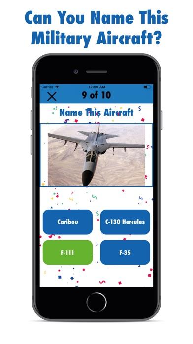 The Aircraft Quiz screenshot #2