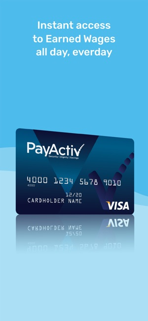 Wage Day Advance Reviews >> Payactiv Earned Wage Access On The App Store