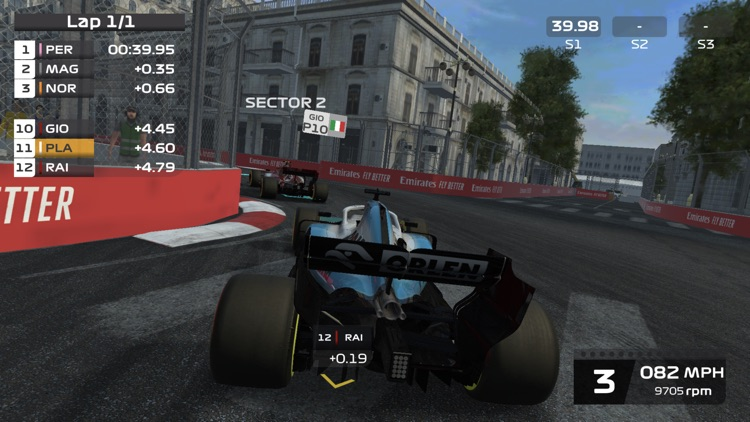 F1 Mobile Racing screenshot-3