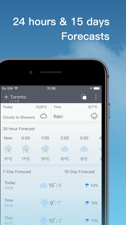 Weather Pro-Forecast&Radar screenshot-3