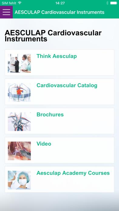 AESCULAP Cardio Instruments