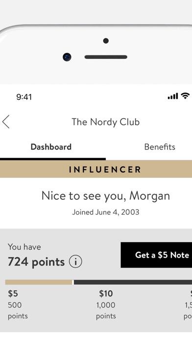 Nordstrom review screenshots