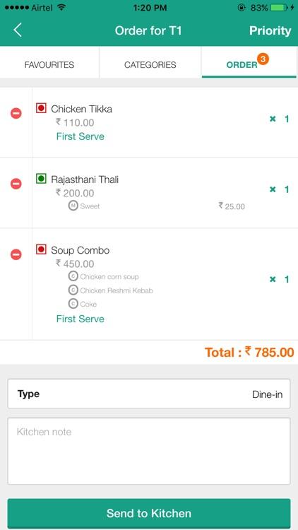 ServJoy - Restaurant App