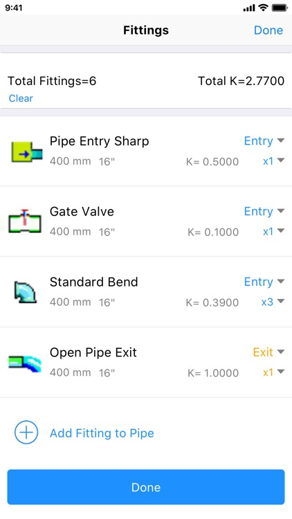 Pipe Flow Wizard - Calculator screenshot-7