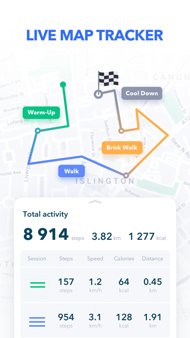 Walking Tracker by GetFit wiki review and how to guide