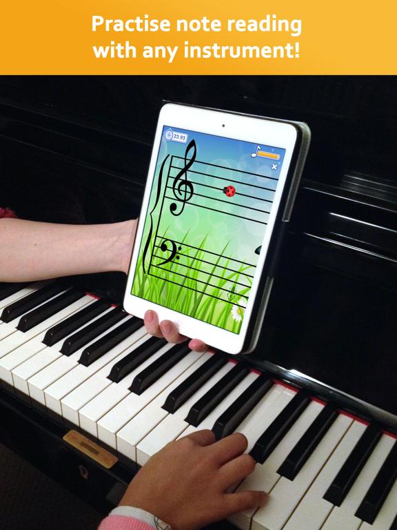 Note Rush: Music Reading Gameのおすすめ画像1